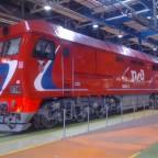 Schwere Lok der Russischen Eisenbahn