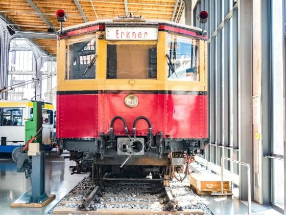 Berliner S-Bahn Baureihe 275/475 im Museum in München