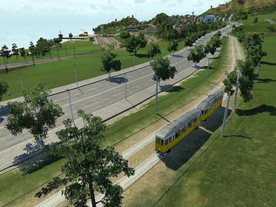 Unterwegs mit der Überland-Straßenbahn