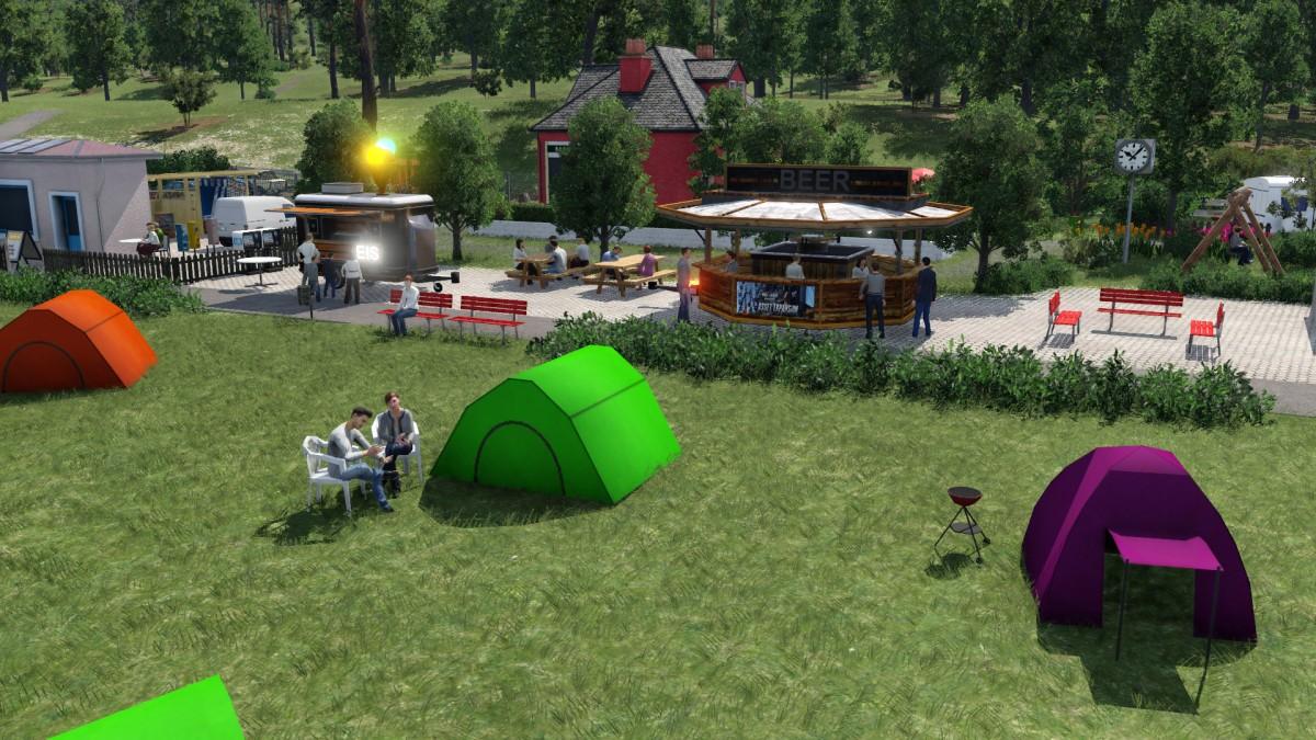 Bauabschnitt Campingplatz