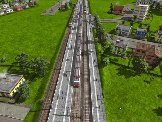 Leer Hbf (S-Bahn Leer, RegionalExpress 1, und TGV)