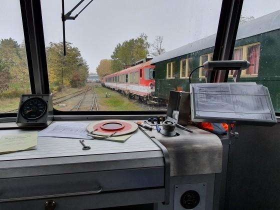 Auf grosse Fahrt mit dem Schienenbus