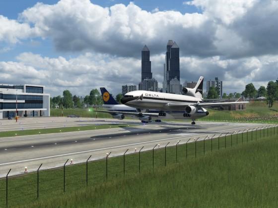 Tristar landing