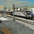 GoldenExpress auf der IC01 Strecke