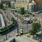 Hochbetrieb an der Stadtmitte