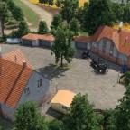 Ländlicher Bauernhof