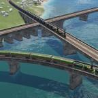 Flexible stone bridges