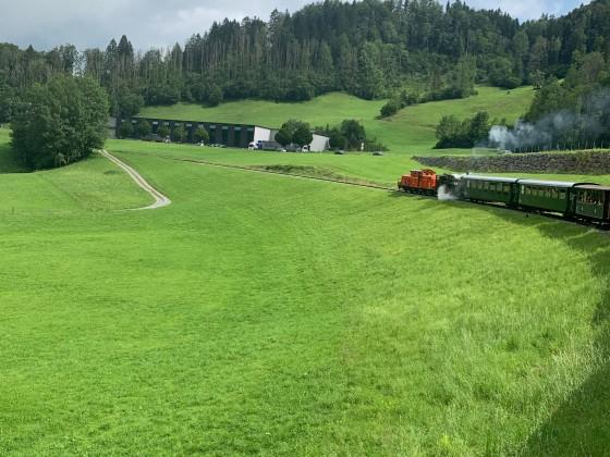Doppeltraktion zwischen Bezau und Schwarzenberg